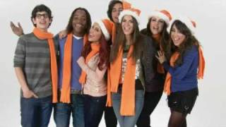 Тори Вега, The cast of Victorious wishes you a Happy Holiday!