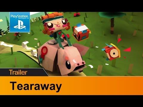 Видео № 1 из игры Сорванец (TearAway) (Б/У) (без обложки) [PS Vita]