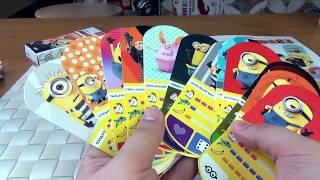 Карточки Миньоны Магнит часть 2 - Гадкий я З - Распакуйка