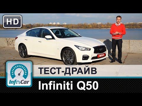 Infiniti  Q50 Седан класса D - тест-драйв 1