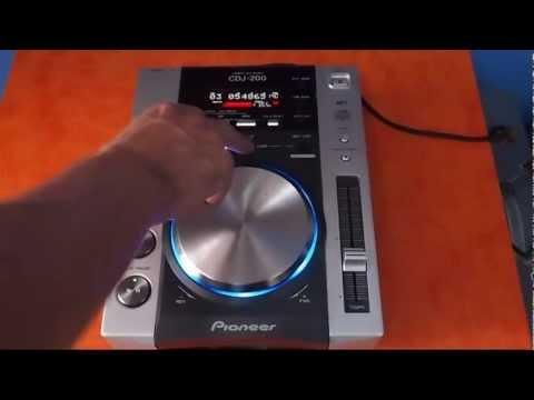 Reproductor profesional para DJ Pioneer CDJ-200
