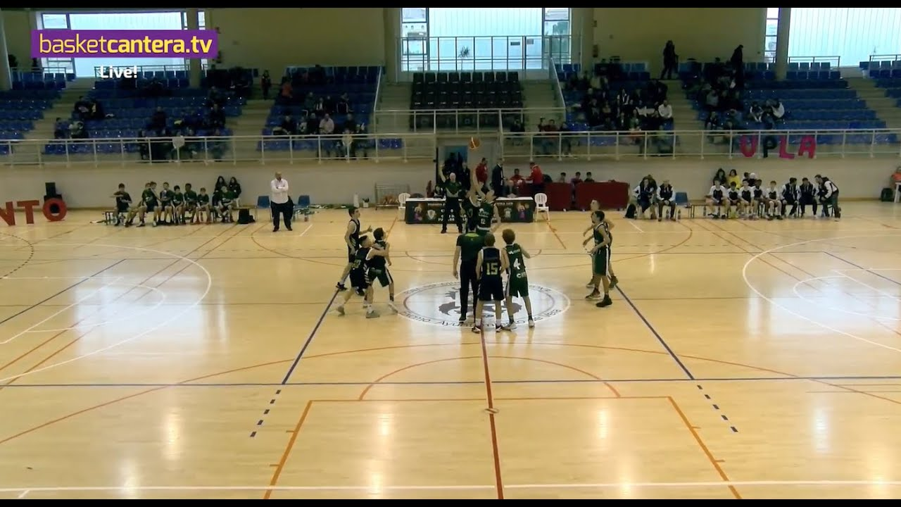 U13M - REAL MADRID vs UNICAJA - III Torneo Infantil Ciudad de Vera (BasketCantera.TV)