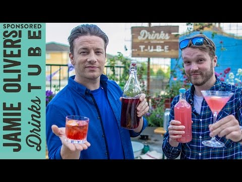 Batched Cocktail Recipes (Negroni & Cosmopolitan) | Jamie Oliver & Rich Hunt