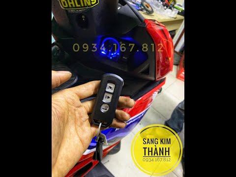 Lắp Khoá Smartkey Honda Winner X Chính Hãng