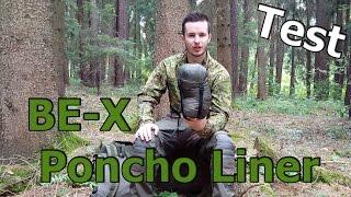 BE-X PONCHO LINER Review Survival Gear Test #1 GSPAirsoft german/deutsch