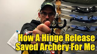 How A Hinge Release Saved Archery For Me