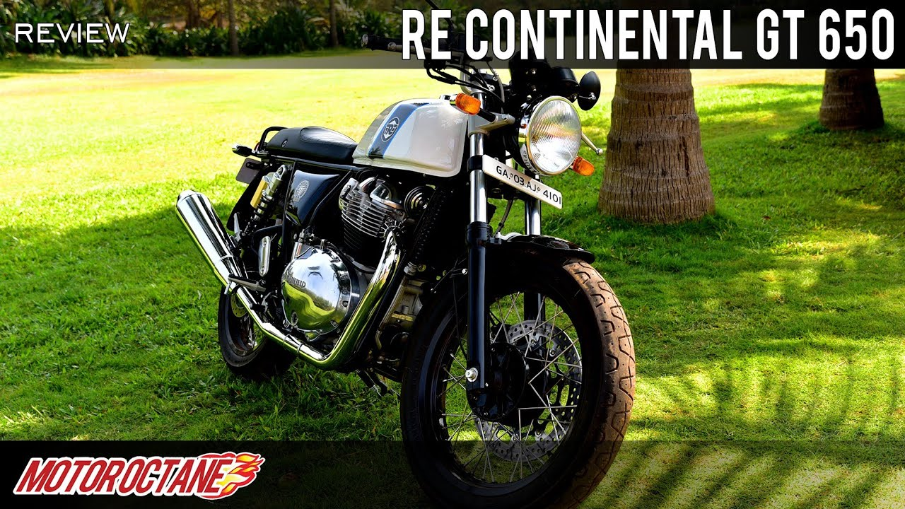 Motoroctane Youtube Video - Royal Enfield Continental GT 650 Review - Faad Daali! | Hindi | MotorOctane