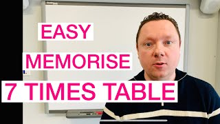 How to Memorise The 7 Times Table - Quick and Easy Maths!