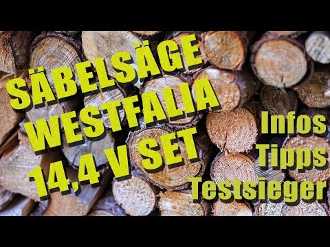 Säbelsäge Westfalia 14,4 v set | Infos, Tipps und Testsieger | SaebelSaegen.net