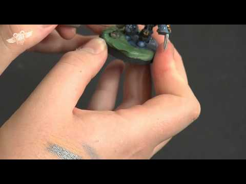 How to paint a Space Wolf Terminator - part 5