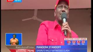 Mandera Standoff : Jubilee rally disrupted by supporters from both Jubilee and EFP