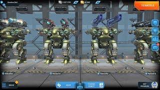 War Robots Natasha Best Builds Gameplay 2018