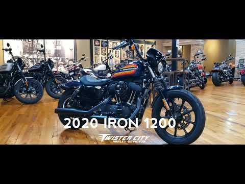 2020 Harley-Davidson® Iron 1200™ : XL1200NS