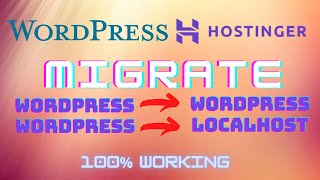How to Transfer/Migrate an Entire Website | WordPress to WordPress | WordPress to Localhost [Hindi]