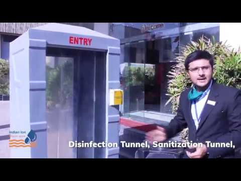 Disinfection Tunnel.