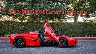 My Friend Bought a $5.3 MILLION Laferrari Aperta