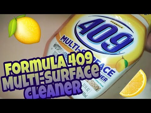 409 Lemon Fresh Multi-Surface Cleaner – First Impressions, Review & Demo | Crazy Cleaner