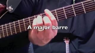 NOWHERE MAN - Guitar Lesson