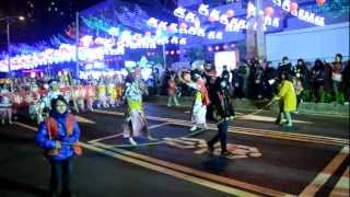 preview picture of video 'hsinchu lantern festival 2013 parade'
