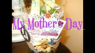 My DIY Memory Jar For Mothers Day!