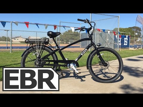 E-Lux Newport Video Review – Cruiser Style Electric Bike