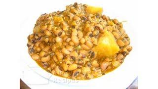 Nigerian Beans Porridge (with Yam) | All Nigerian Recipes