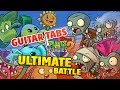 Plants vs Zombies 2 Theme Song Guitar Cover (Tabs and midi)