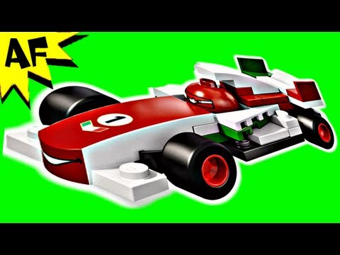 Vidéo LEGO Cars 9478 : Francesco Bernoulli
