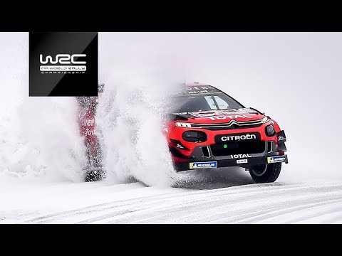 WRC - Rally Sweden 2019: Best of Action!