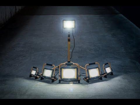 Projecteur LED portable Jaro Brennenstuhl