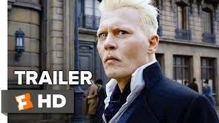"► Watch more from Comic-Con 2018: http://bit.ly/2KN8hYA AND watch Your Opinion Sucks LIVE Saturday @ 5pm PST: https://www.youtube.com/watch?v=3MpqzsDdLk8  Check out the official Fantastic Beasts: The Crimes of Grindelwald Comic-Con Trailer starring Johnny Depp! Let us know what you think in the comments below. ► Buy Tickets to Fantastic Beasts: The Crimes of Grindelwald: https://www.fandango.com/fantastic-beasts-the-crimes-of-grindelwald-207770/movie-overview?cmp=MCYT_YouTube_Desc  US Release Date: November 16, 2018 Starring: Johnny Depp, Katherine Waterston, Ezra Miller  Directed By: David Yates Synopsis: The second installment of the ""Fantastic Beasts and Where to Find Them"" franchise which follows the adventures of Newt Scamander.   Watch More Trailers: ► Hot New Trailers: http://bit.ly/2qThrsF ► Family & Animation Trailers: http://bit.ly/2D3RLiG ► Action/Sci-Fi Trailers: http://bit.ly/2Dm6mTB  Fuel Your Movie Obsession:  ► Subscribe to MOVIECLIPS TRAILERS: http://bit.ly/2CNniBy ► Watch Movieclips ORIGINALS: http://bit.ly/2D3sipV ► Like us on FACEBOOK: http://bit.ly/2DikvkY  ► Follow us on TWITTER: http://bit.ly/2mgkaHb ► Follow us on INSTAGRAM: http://bit.ly/2mg0VNU  The Fandango MOVIECLIPS TRAILERS channel delivers hot new trailers, teasers, and sneak peeks for all the best upcoming movies. Subscribe to stay up to date on everything coming to theaters and your favorite streaming platform."