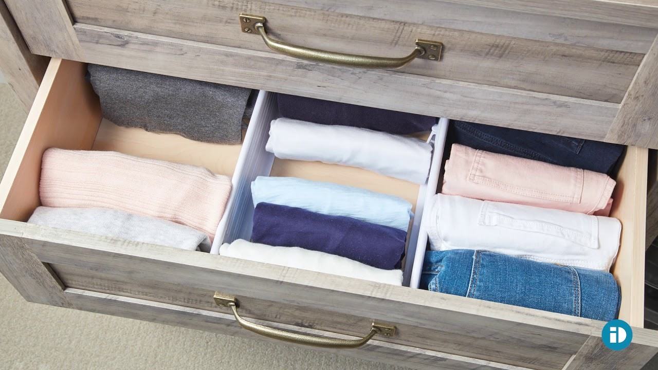 DRAWER ORGANIZATION - inspired by Marie Kondo