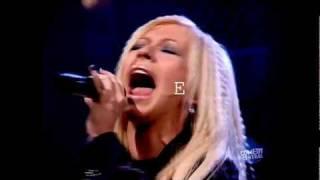(HD) Christina  I Turn To You Live Showcase Eb5, E5 & F5