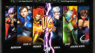 UMVC3 UNDEFEATED 2017 (Las Vegas RyanLV) Vs (SoCal Killer Kai)
