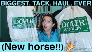 HUGE NEW HORSE TACK HAUL!! :O