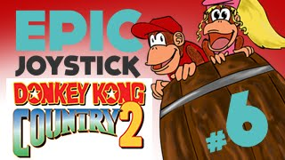 preview picture of video 'Donkey Kong Country 2 - Partie 6 - On mange ben du Chocolat'