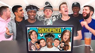 SIDEMEN REACT TO TEENS REACT TO SIDEMEN