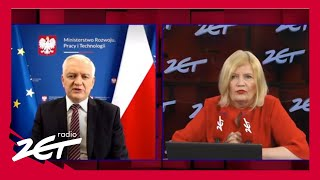 RZ Jarosław Gowin o wycieku maili: To rosyjska prowokacja, więc powinniśmy zachować dystans