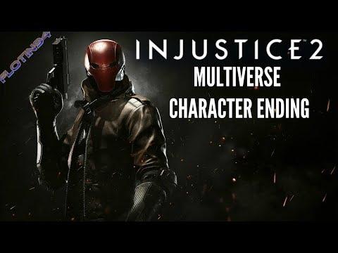 Injustice 2 | RED HOOD Character Ending | Multiverse Battle Simulator |CZ/SK|