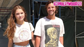 Cameron Dallas Almost PROPOSES To Girlfriend Madisyn Menchaca While Leaving Lunch At Urth Caffe