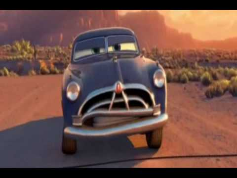 Doc Hudson Hornet Shows His Real Driving