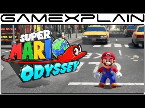 Super Mario Odyssey - Moveset Gameplay Demonstration (JP - Switch)