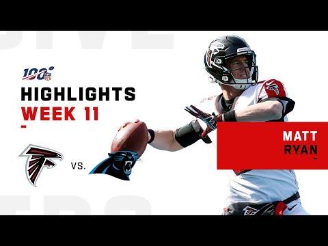 Matt Ryan Thrashes Panthers w/ 311 Yds   NFL 2019 Highlights