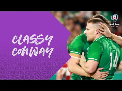 Andrew Conway is Ireland's speedster! – Rugby World Cup 2019