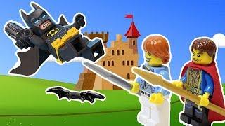 """""""Пальцы и ногти"""".  Коготь Бэтмена, 1 серия. Лего мультик - анимация  2018."""