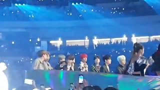 181201 BTS Reaction To GFRIEND - Time For The Moon Night @Melon Music Awards 2018