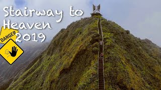 Stairway to Heaven the legal way in 2019 | Haiku Stairs, Oahu, Hawaii