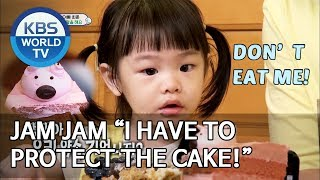 """Jam Jam """"I have to protect the cake!"""" [The Return of Superman/2019.09.08]"""