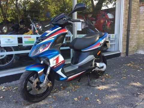 Piaggio NRG Power 50cc 2009 Review & Start Up