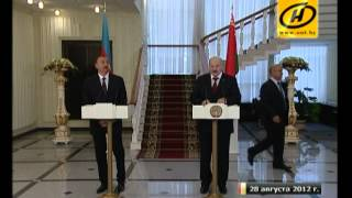 О чём договорились Лукашенко и Алиев?